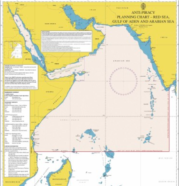 CTF-151 Area of Operation for Counter-Piracy
