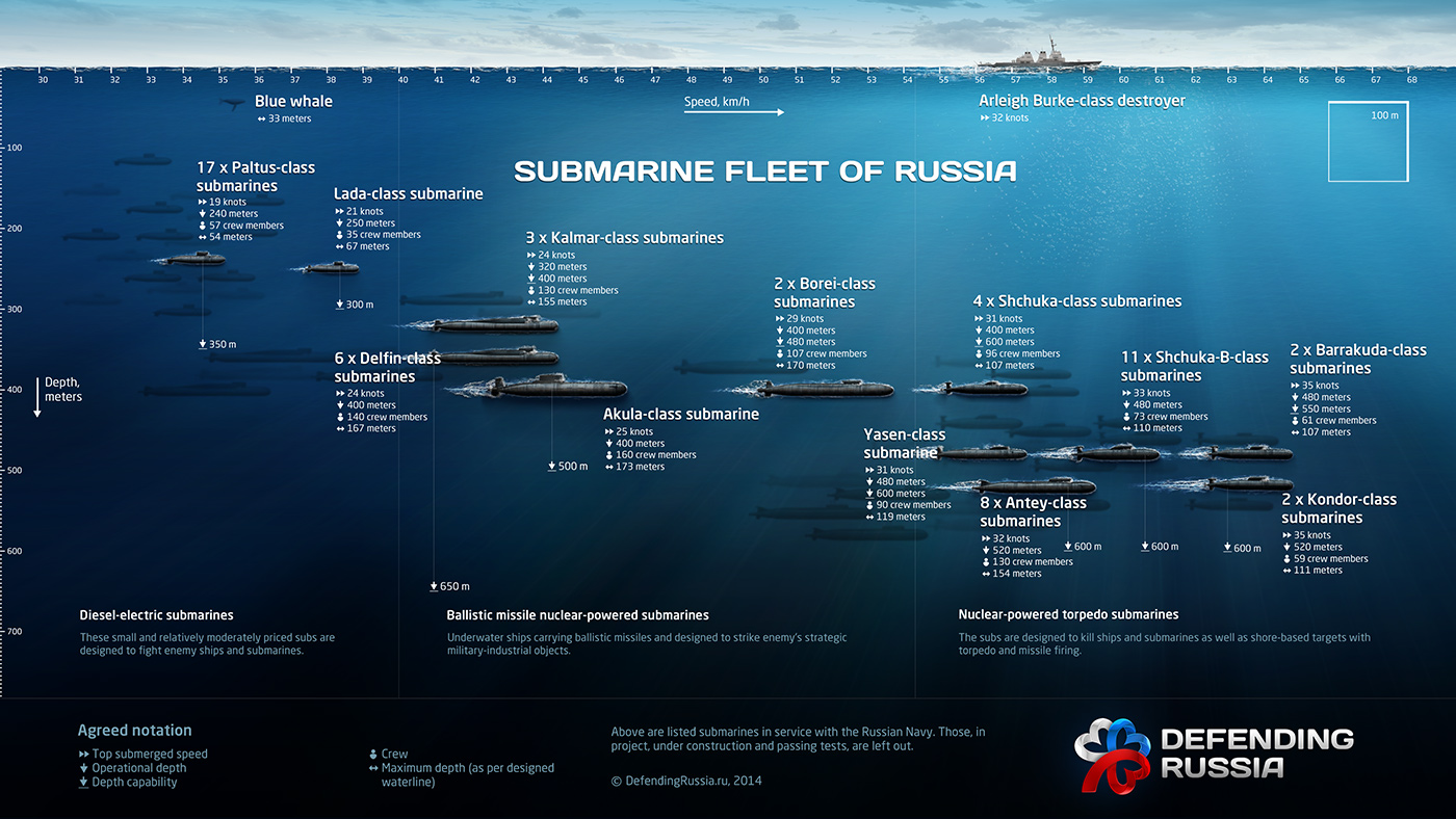Submarine Fleet of Russia