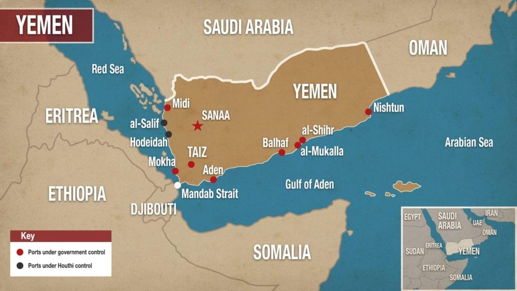 Conflict in Yemen, Beyond the Horizon ISSG